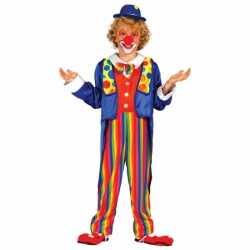 Clownpak kostuum kinderen
