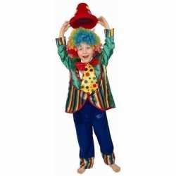 Clownpak verkleedkleding kinderen