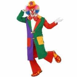 Clowns jas volwassenen