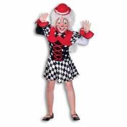 Clowns jurkje meisjes