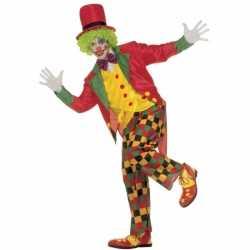 Clowns outfit volwassenen
