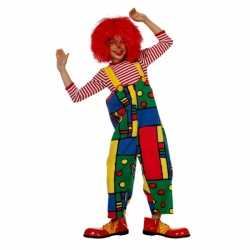Clowns tuinbroek kinderen