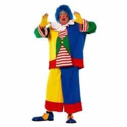 Grote maat clowns kostuum heren