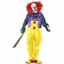 Horror clownpak kostuum masker