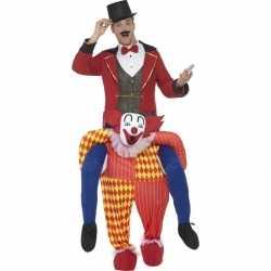 Instapkostuum circus clownpak volwassenen